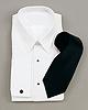 White laydown Collar