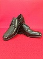BLACK DOUBLE RUNNER SUIT SHOE
