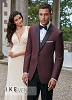 Ike Behar® Evening - Burgundy 'Marbella' Tuxedo