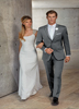 Ike Behar Bryce Light Grey Suit
