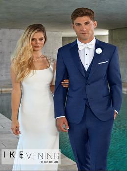 Ike Behar Henderson Indigo Blue Suit