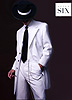 After Six – White with Black Stripe Zoot Suit