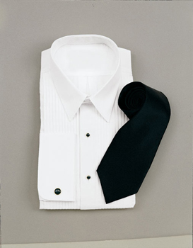 White laydown Collar